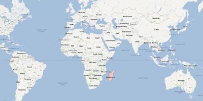 Madagaskarin Kartta Kartat Madagaskar Ita Afrikka Ja Afrikan
